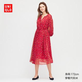 UNIQLO 优衣库 Joy of Print 426611 女士雪纺连衣裙