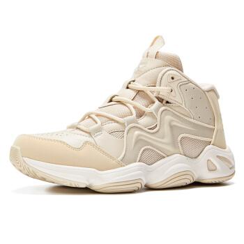 361° 女士篮球鞋 581931118 米色/361度白 37