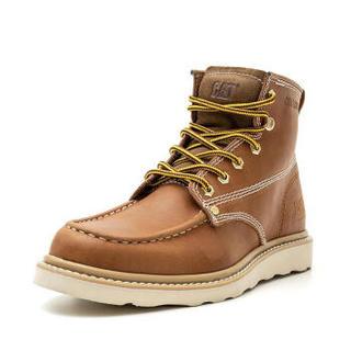 CAT卡特 GLENROCK MID P721411 男士牛皮革休闲靴