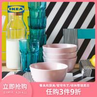IKEA宜家DINERA代诺拉碗淡粉红色微波炉加热饭碗