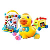 AUBY 澳贝 启智系列 463439DS+463318DS+463314DS 儿童玩具套装(学习桌+乖乖小鸭+手指总动员)