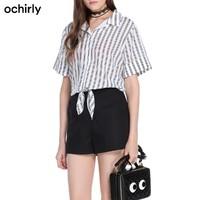 ochirly 欧时力1JY2061280 女士短袖连体裤短裤