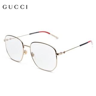 GUCCI古驰倪妮同款眼镜框近视眼镜架男女款19年新款GG0396O