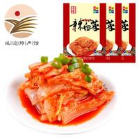 金刚山韩国泡菜韩式免切辣白菜 500g*3袋