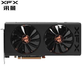 讯景(XFX) RX5700 XT/5600 XT 5500 XT GDDR6 7nm显卡 RX5500XT 黑狼版 8G