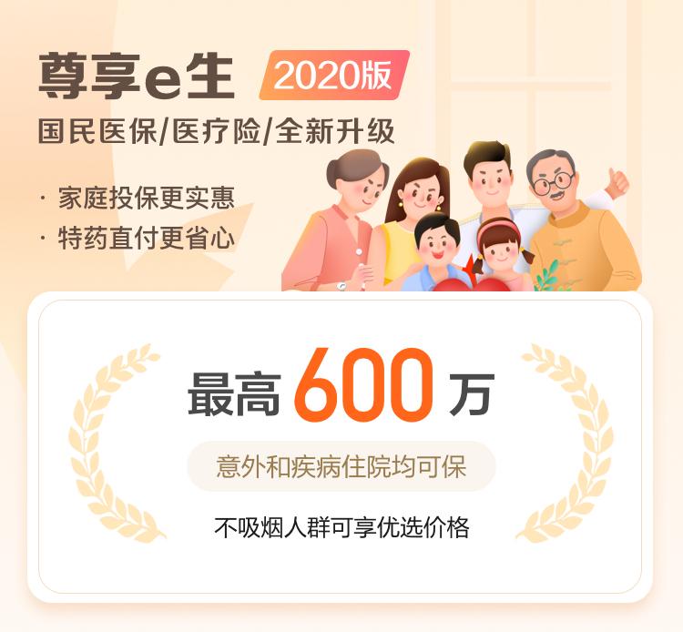 众安 尊享e生2020版