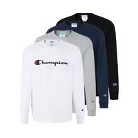 Champion男士圆领套头长袖卫衣 前胸品牌款 T3822549465 *2件
