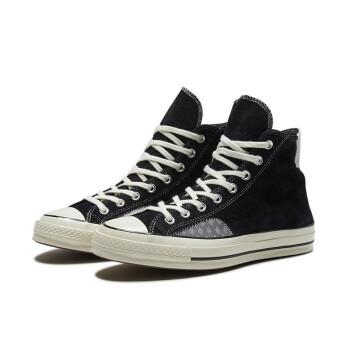 CONVERSE 匡威 Chuck 70 166853C 高帮反皮毛休闲鞋 黑色 42.5