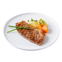 利泽乌拉圭西冷原切牛排 6~8片 共1kg