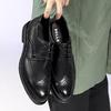 BeLLE 百丽 33028AM0 男款休闲皮鞋 黑色 43