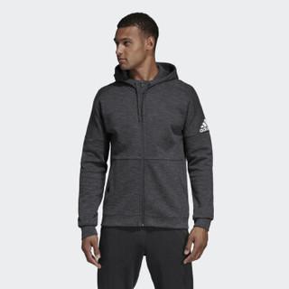 adidas 阿迪达斯 ID Stadium FZ DU1135 男子针织夹克 灰色 M