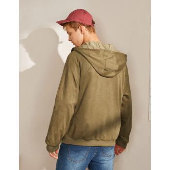 A21 R494134013  男士连帽外套