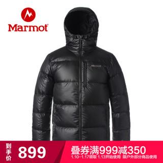 Marmot 土拨鼠 V73165 男士面包羽绒服