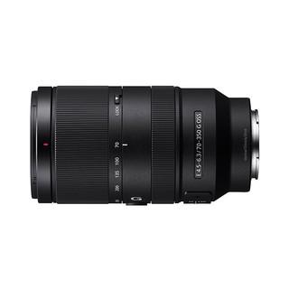 SONY 索尼 SEL70350G APS-C画幅超远摄变焦G镜头 E 70-350mm F4.5-6.3 G OSS E卡口
