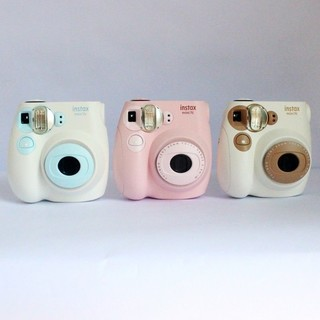 FUJIFILM 富士 instax mini7C 拍立得相机 奶咖色 + 配件大礼包