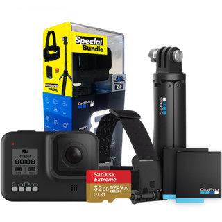 GoPro HERO8 BLACK Special Bundl 假日套装