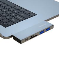 HONGDAK type-C扩展坞(100W PD+USB3.0*2+TF/SD)