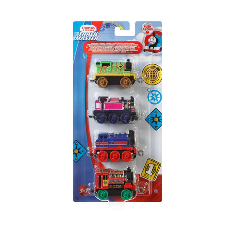Thomas & Friends 托馬斯和朋友 軌道系列 GCK95 合金小火車組合裝 四輛裝