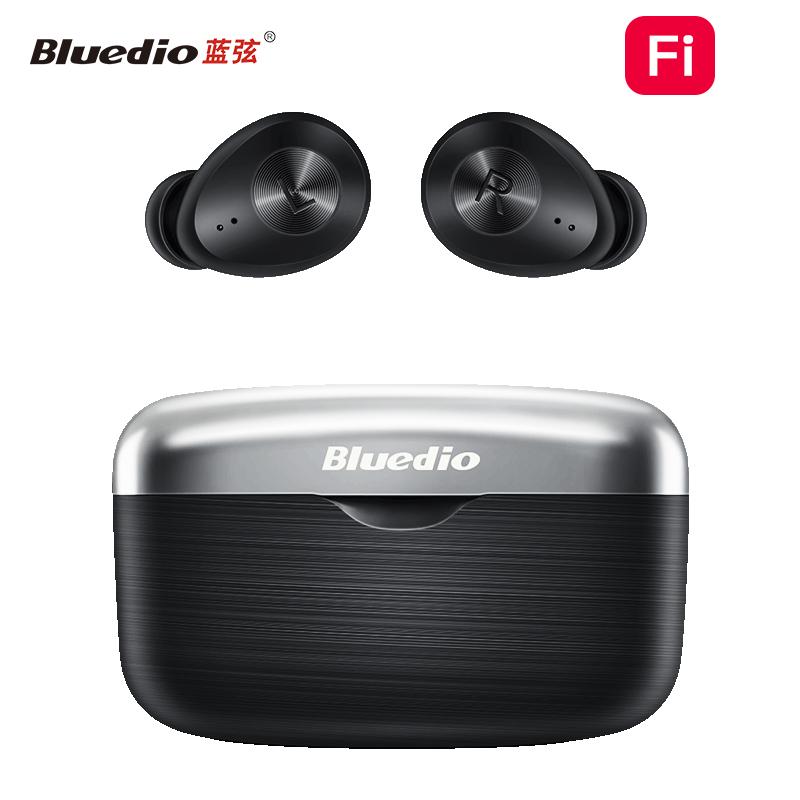 Bluedio/蓝弦Fi入耳式真无线蓝牙耳机商务运动耳塞