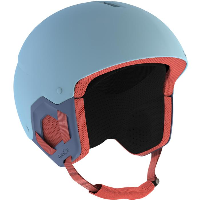 DECATHLON 迪卡侬 D-SKI HKID 500-BLUE 滑雪头盔 173333-8494018 天蓝色 53-56cm