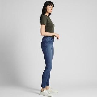 UNIQLO 优衣库 421600 女士牛仔紧身裤