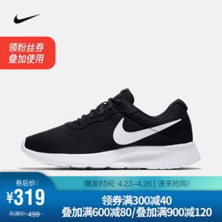 耐克 NIKE TANJUN 男子运动鞋 812654 812654-011黑/白 42