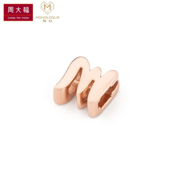 CHOW TAI FOOK MIX系列 MA946 18K金镶钻石转运珠