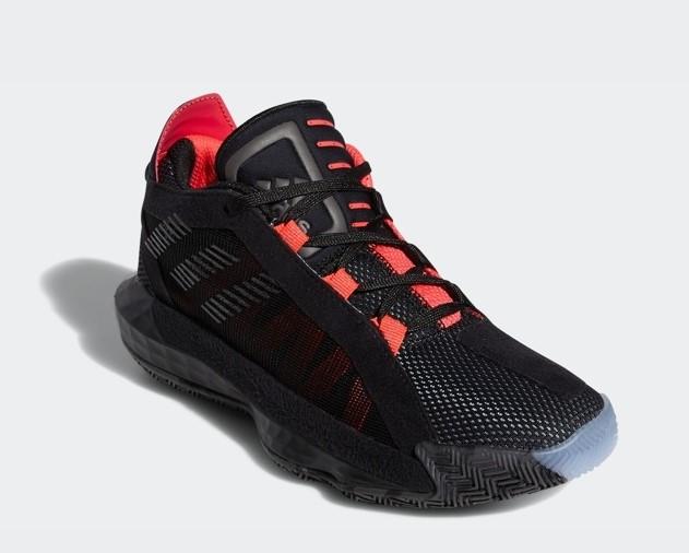 阿迪达斯官网 adidas Dame 6 J 大童利拉德6球运动鞋EH2791