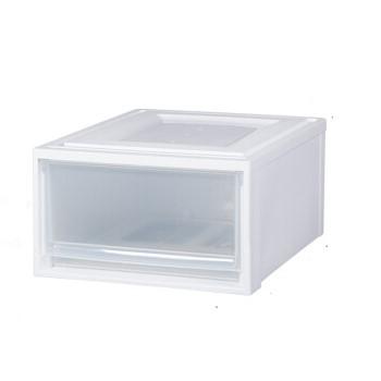 IRIS 爱丽思 BC-500 抽屉式收纳箱 透明/白
