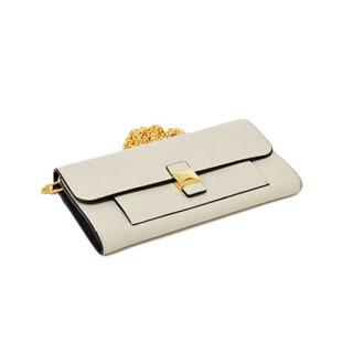 芙拉 Furla FW19MAIN 女士  浅米色 DIVA系列 XL 斜挎单肩包链条包钱包 1033885