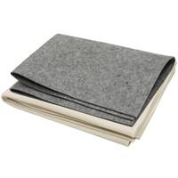 弘梅 加厚毛毡垫 100x70厘米 厚3mm 灰色