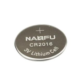 南孚(NANFU)CR2016纽扣电池1粒 3V 锂电池 适用丰田比亚迪奔驰景逸等汽车钥匙 手表电池/主板/遥控器等用