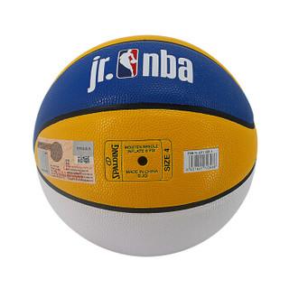 斯伯丁SPALDING 青少年NBA篮球儿童4号PU球室内外用蓝球 76-421Y