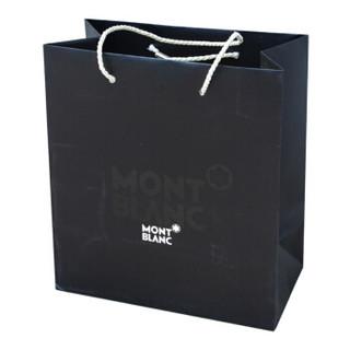 MONTBLANC 万宝龙 黑色 大LOGO 高端商务礼品袋 手提袋 M