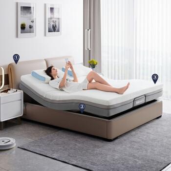 历史低价:CHEERS 芝华仕 Z007 电动智能布艺床 1.5/1.8m