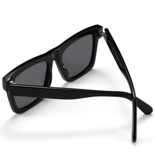 丝黛拉麦卡妮(StellaMcCartney)太阳镜男 墨镜 烟灰色镜片黑色镜框SC0172S 001 53mm