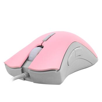 黑爵 AJAZZ AJ118 粉色 游戏鼠标  宏编程鼠标 压枪 有线电竞鼠标 吃鸡鼠标 绝地求生
