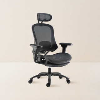 YANXUAN 网易严选 人体工学电脑椅 黑色 700*700*1160mm