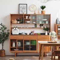 爱收纳别错过这款樱桃木餐边柜!小米有品家具上新,多功能边柜2480元起~