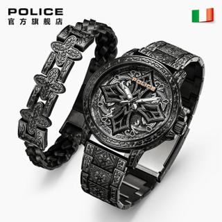 POLICE PL.15530CRS-SET5 男士石英手表
