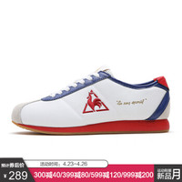 乐卡克法国公鸡蒙贝利尔轻便休闲运动鞋男女CMT-191308/07 白色/蓝色 40