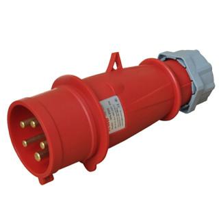 同为(TOWE)IPS-P532工业连接器工业插头机房PDU专用航空插5芯公头