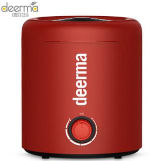 德尔玛 Deerma 加湿器 便捷上加水加湿器 家用卧室静音迷你加湿器 办公室个性加湿器 DEM-F300(红色)