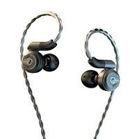 达音科(DUNU) DK2001入耳式耳机铍振膜四单元圈铁音乐HIFI耳塞高保真运动发烧有线 曜石黑