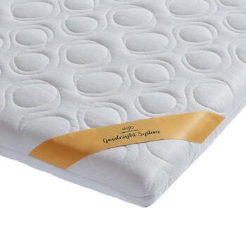 babycare嬰兒床墊乳膠天然椰棕墊bb兒童床墊幼兒園寶寶床墊5980 100*56cm