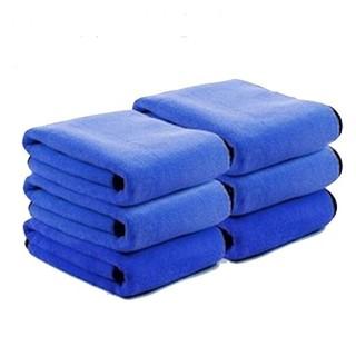 Lois 洛伊丝 双面加厚毛巾 30*30cm 蓝色 *6条