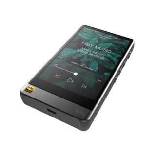 海贝(HiBy)R6Pro 骁龙处理器安卓播放器 DSD256硬解 4.4平衡输出 HIFI便携播放器 MP3 铝合金灰色