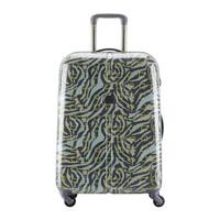 法国大使牌(Delsey)时尚简约拉杆箱20英寸旅行箱PC硬箱万向轮行李箱男女迷彩绿色002625