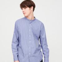 UNIQLO 优衣库 427451 条纹立领衬衫