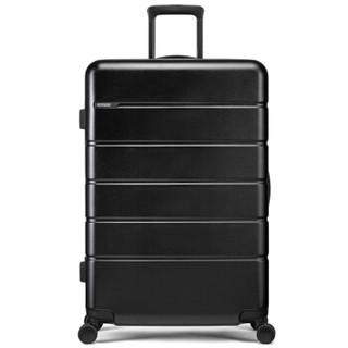 美旅拉杆箱 时尚轻便旅行箱静音耐磨万向轮TSA密码箱行李箱 29英寸托运箱 TE6黑色